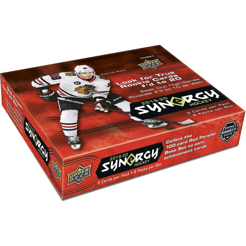 Sealed Box 2019-20 Upper Deck Synergy Hobby