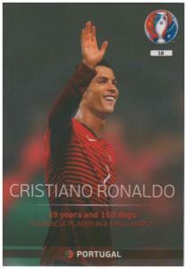 Adrenalyn XL UEFA Euro 2016, Legend, #18, Cristiano Ronaldo
