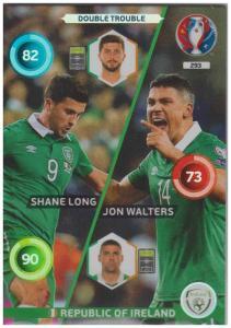 Adrenalyn XL UEFA Euro 2016, Double Trouble, #293, Shane Long / Jon Walters