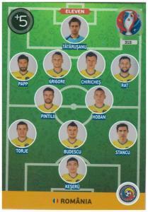 Adrenalyn XL UEFA Euro 2016, Eleven, #315, Romania