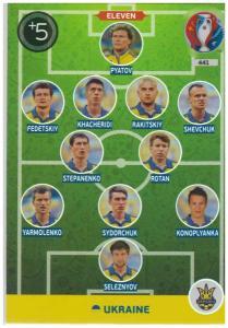 Adrenalyn XL UEFA Euro 2016, Eleven, #441, Ukraine