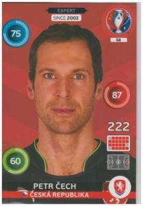 Adrenalyn XL UEFA Euro 2016, Expert, #058, Petr Cech