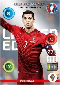 Adrenalyn XL UEFA Euro 2016, Limited Edition, Cristiano Ronaldo - Classic