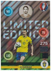 XXL Adrenalyn XL UEFA Euro 2016, Limited Edition XXL, Zlatan Ibrahimovic - Shiny