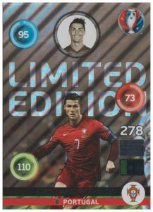 XXL Adrenalyn XL UEFA Euro 2016, Limited Edition XXL, Cristiano Ronaldo - Shiny
