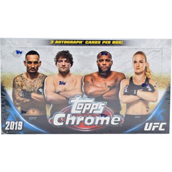 Hel Box 2019 Topps Chrome UFC Hobby