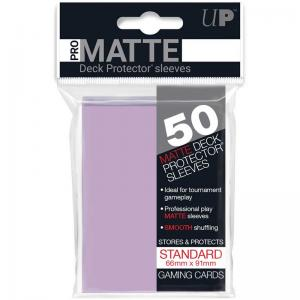 Deck protector sleeves, Pro Matte, Lilac, 50st