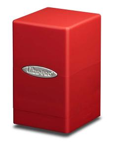 Satin Tower, Red, Ultra Pro (Deck Box)