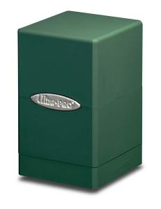 Satin Tower, Green, Ultra Pro (Deck Box)