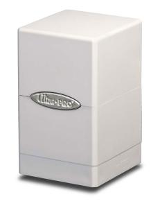 Satin Tower, White, Ultra Pro (Deck Box)