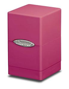 Satin Tower, Bright Pink, Ultra Pro (Deck Box)