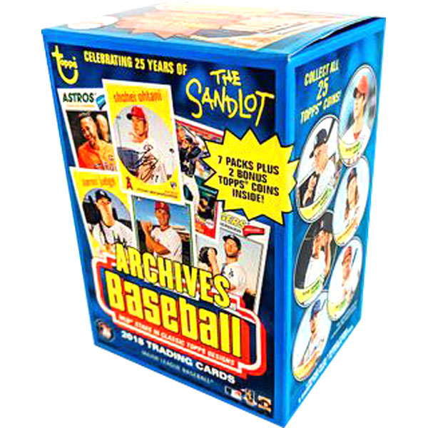 Hel Value Box 2018 Topps Archives Baseball