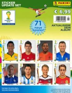 Update Set, Panini Stickers World Cup 2014 (White Boarder)