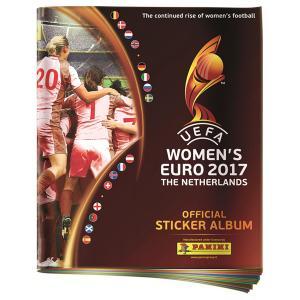 Album, Panini Stickers Women's Euro 2017 (Endast album)