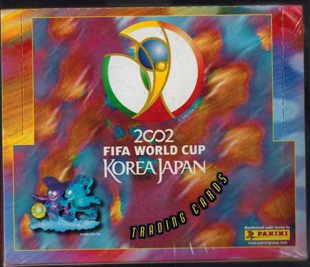 Sealed Box Panini World Cup 2002