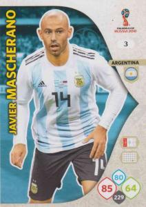 WC18 - 003  Javier Mascherano (Argentina) - Team Mates