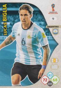 WC18 - 009  Lucas Biglia (Argentina) - Team Mates