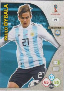 WC18 - 014  Paulo Dybala (Argentina) - Team Mates