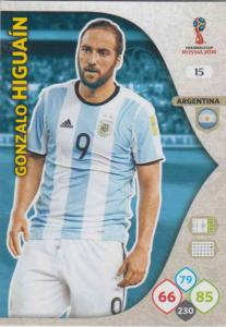 WC18 - 015  Gonzalo Higuain (Argentina) - Team Mates