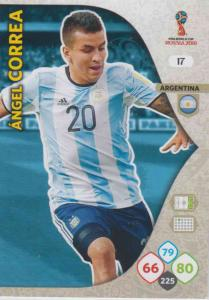 WC18 - 017  Angel Correa (Argentina) - Team Mates