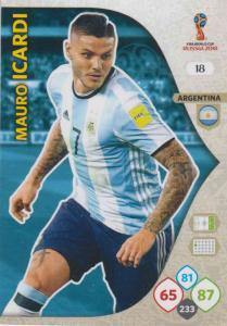 WC18 - 018  Mauro Icardi (Argentina) - Team Mates