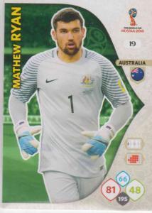 WC18 - 019  Mathew Ryan (Australia) - Team Mates