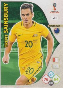 WC18 - 020  Trent Sainsbury (Australia) - Team Mates