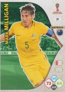 WC18 - 021  Mark Milligan (Australia) - Team Mates
