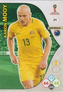 WC18 - 024  Aaron Mooy (Australia) - Team Mates