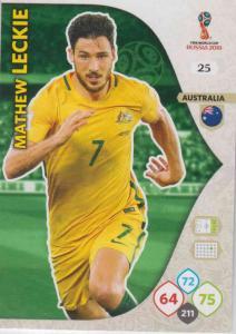 WC18 - 025  Mathew Leckie (Australia) - Team Mates