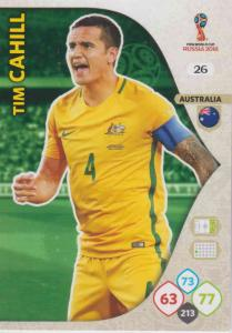 WC18 - 026  Tim Cahill (Australia) - Team Mates