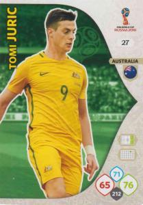 WC18 - 027  Tomi Juric (Australia) - Team Mates
