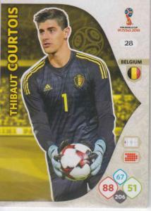 WC18 - 028  Thibault Courtois (Belgium) - Team Mates