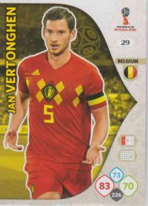 WC18 - 029  Jan Vertonghen (Belgium) - Team Mates