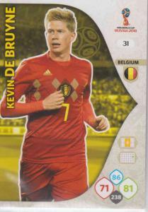 WC18 - 031  Kevin De Bruyne (Belgium) - Team Mates