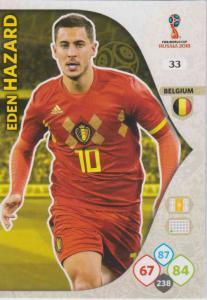 WC18 - 033  Eden Hazard (Belgium) - Team Mates
