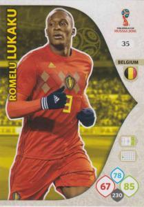 WC18 - 035  Romelu Lukaku (Belgium) - Team Mates
