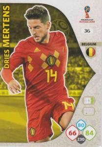 WC18 - 036  Dries Mertens (Belgium) - Team Mates