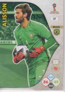 WC18 - 037  Alisson (Brazil) - Team Mates