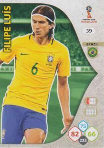 WC18 - 039  Filipe Luis (Brazil) - Team Mates