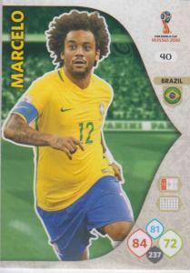 WC18 - 040  Marcelo (Brazil) - Team Mates