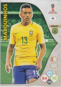 WC18 - 041  Marquimhos (Brazil) - Team Mates
