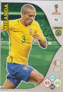 WC18 - 042  Miranda (Brazil) - Team Mates