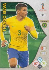 WC18 - 043  Thiago Silva (Brazil) - Team Mates