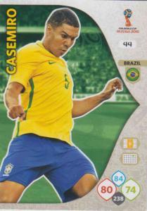 WC18 - 044  Casemiro (Brazil) - Team Mates