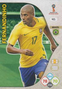 WC18 - 045  Fernandinho (Brazil) - Team Mates