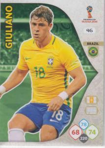 WC18 - 046  Giuliano (Brazil) - Team Mates