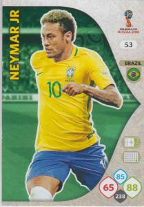 WC18 - 053  Neymar Jr (Brazil) - Team Mates
