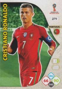 WC18 - 279  Cristiano Ronaldo (Portugal) - Team Mates