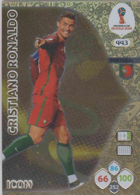 WC18 - 443  Cristiano Ronaldo (Portugal) - Icons